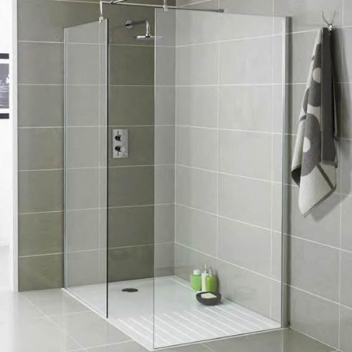 Kartell Koncept Wet Room Screen - 760mm Wide - 8mm Glass